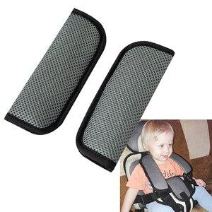 Image 3 - 2 stuks Auto Baby Kind Veiligheid Seat Belt Cover Schouder Protector Voor Kinderwagen Bescherming Kruis Seat Belt Cover Auto styling