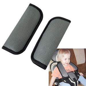 Image 3 - 2pcs Car Baby Child Safety Seat Belt Shoulder Cover Protector For Baby Stroller Protection Crotch Seat Belt Cover Car Styling