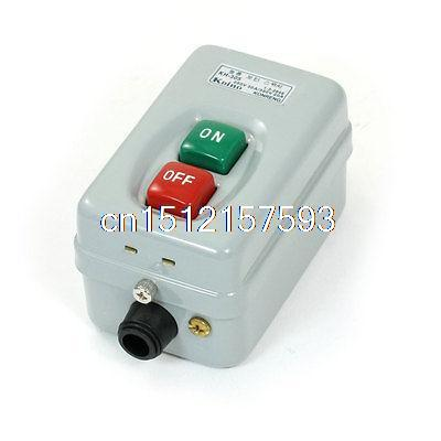 ON/OFF 3P Self Locking Power Push Button Switch AC 250V 30A AC 380V 20A bs216b on off self locking power push button switch 3 phase 500v 2 2kw 15a 380v