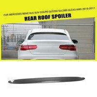 Углеродного волокна/FRP задний спойлер на крыше окна крыло для Mercedes Benz GLC GLC250 GLC300 GLC43 AMG Спорт утилита 4 двери 16 17