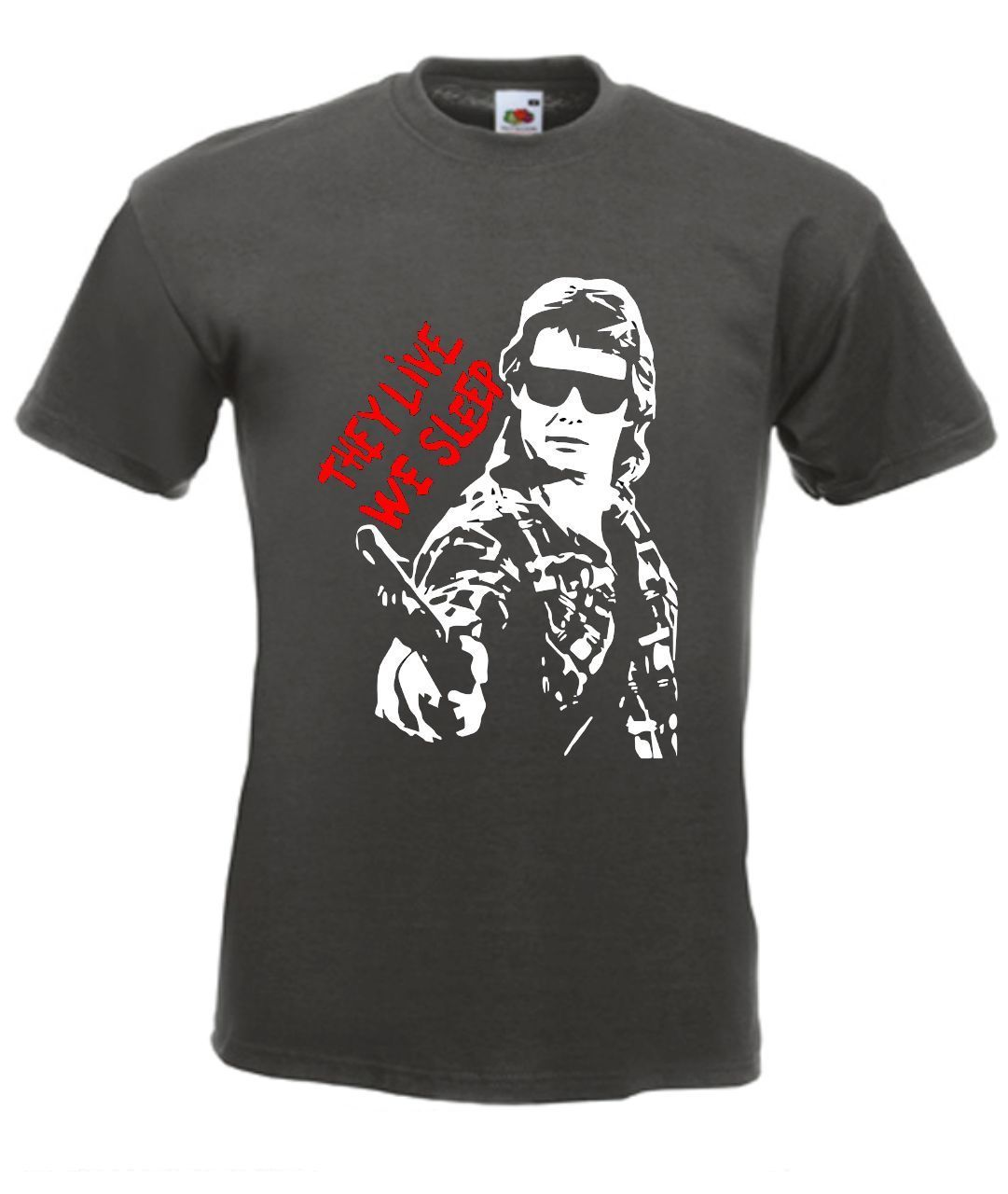 2019 Funny They Live Roddy Piper Retro John Carpenter Movie T Shirt  Tee Hoodie