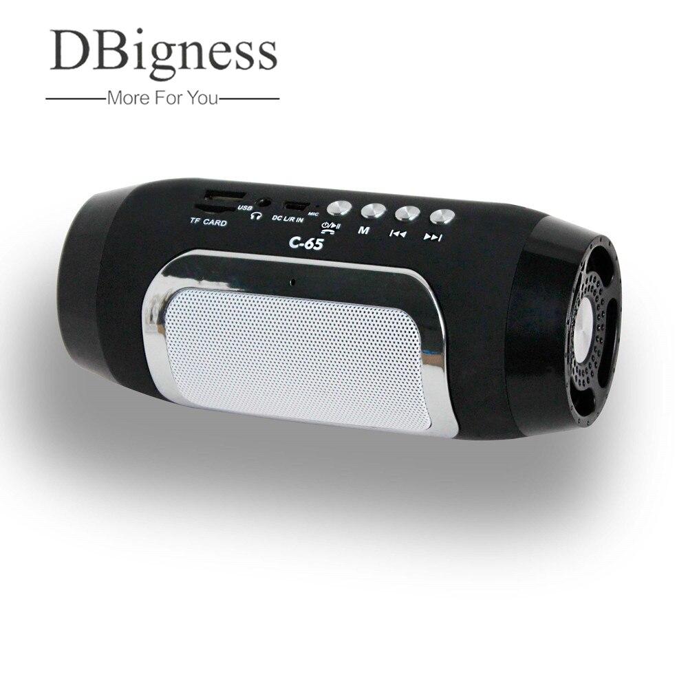 Dbigness Bluetooth Lautsprecher Tragbare Lautsprecher Mini Drahtlose Lautsprecher Stereo Subwoofer Unterstützung USB FM TF Freisprecheinrichtung für Handy Samsung