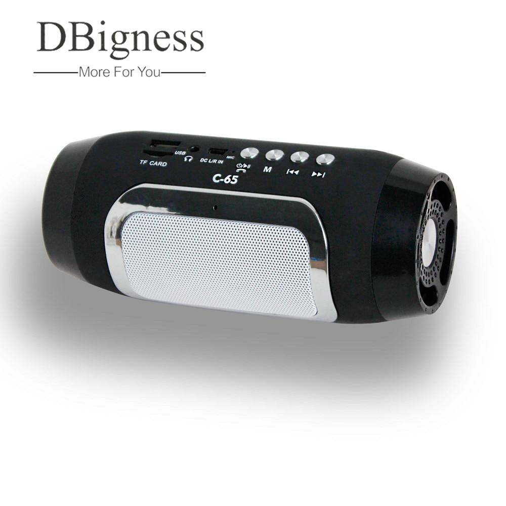 Dbigness Bluetooth Speaker Portable Speaker Mini Wireless Speaker Stereo Subwoofer Support USB TF FM Handsfree for Phone Samsung