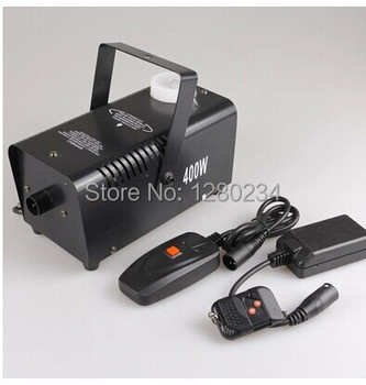 Mini 400w smoke machine stage fog machine with remote control for wedding party special lighting effect dj equipment