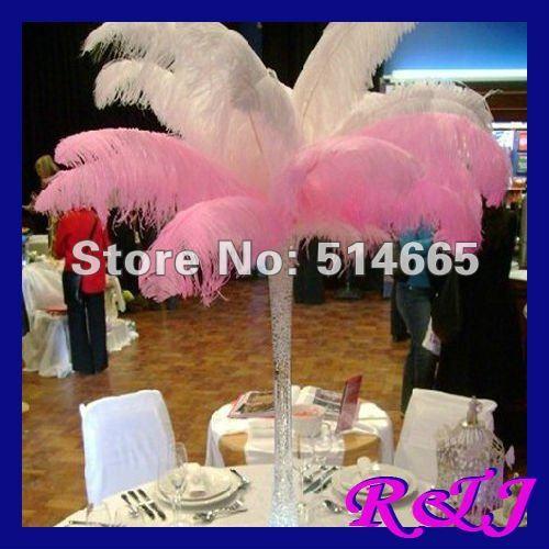 EL ccsme libera el envío 50PCS (25pcs blanco + 25pcs rosado) 65-70cm - Artes, artesanía y costura