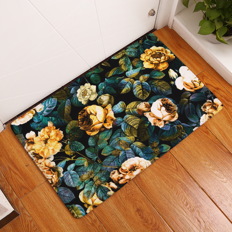 Fine Fokusent Elegant Lady Women Carpet Living Room Parlor Girls Bedroom Chair Rugs Toilet Bathroom Mat Butterfly Decorations Carpet Mat
