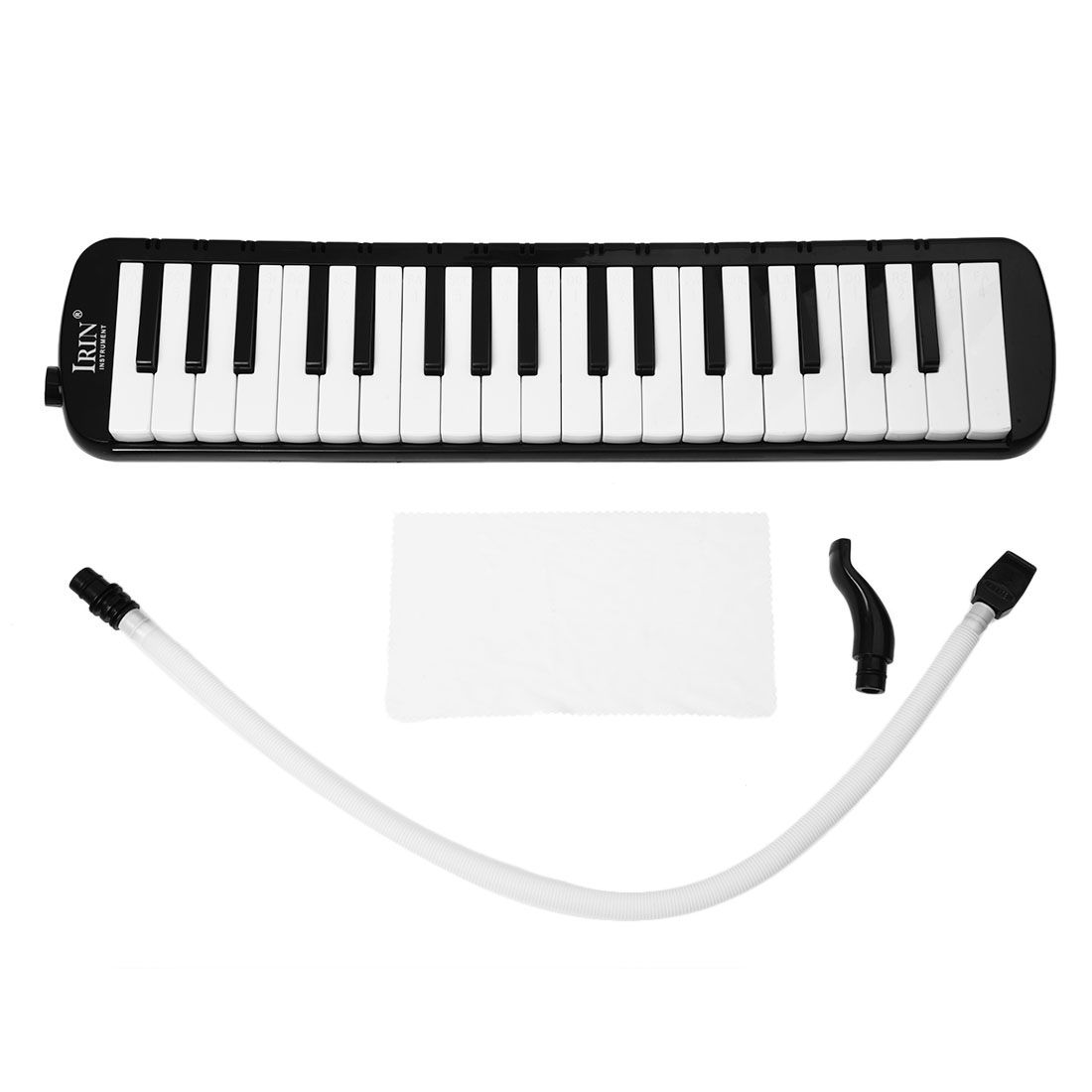IRIN Black 37 Keys Piano Melodica Pianica Musical Instrument + Carrying Bag For Students Beginners Kids