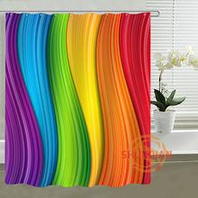 Grosshandel Rainbow Shower Curtain Gallery