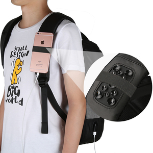 Image 5 - Kingsons Phone Sucking Backpacks Daily Casual Daypacks Travel Backpack Suit For Teenager Business man Student