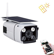 Solar Power Outdoor Camera HD 960P Wireless WiFi IP Camera Waterproof CCTV Video Surveillance with Dual Light, Motion Detection 1 3mp hd 960p wifi bullet metal ip camera wireless outdoor waterproof surveillance cmos motion detect freeshipping webcam