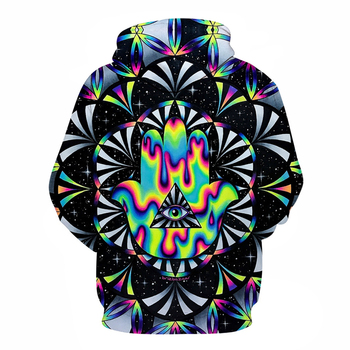 Trippy hamsa Printed 3d Hoodies Men Hoodie Autumn Sweatshirts Unisex Pullover Novelty Outwear Jackets Male Tracksuits Brand Coat best psychedelic artwork