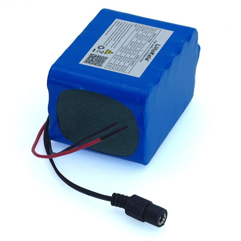 Liitokala Large Capacity 12 V 10Ah 18650 Lithium Rechargeable Battery 12v 10000 MAh Protection  BMS+ 12.6 V 3A Battery Charger
