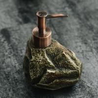 Kreative keramik retro stein shampoo hand sanitizer dusche gel lotion seife spender lotion flasche WF529237