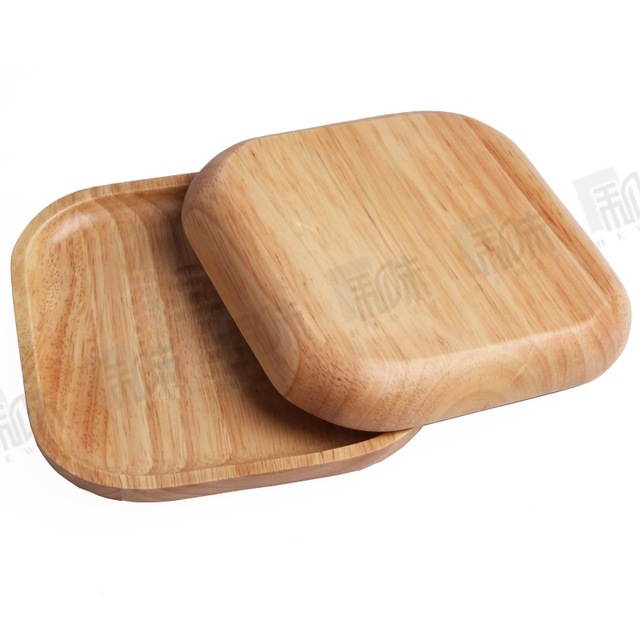 Environmental Protection Wooden Tableware Square Shaped Rubber Wood Plate Creative Japanese Style Dessert Dish Fruit Snack  sc 1 st  AliExpress.com & Environmental Protection Wooden Tableware Square Shaped Rubber Wood ...