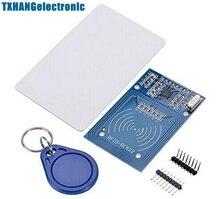 1 PCS MFRC-522 RC522 RFID Leitor de Cartão IC Indução Sensor de Radiofreqüência