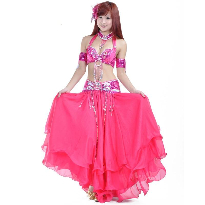 Top Grade Professional Belly Dancing Costumes Set 6 PCS ...