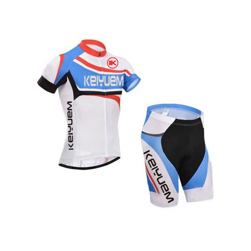 2018 Men Women Cycling Jersey Sets Pro Team Short Sleeve Quick Dry Ropa Ciclismo Cycling Bike Jersey GEL Pad Bicycle Clothing in Cycling Sets from Sports Entertainment