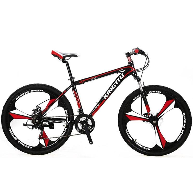 Cyrusher Х3-Ман горный велосипед 26x17 дюймов алюминиевого сплава легкая Рама Вилка Подвеска 21 скорость переключение передач дисковые тормоза Пакгауза США