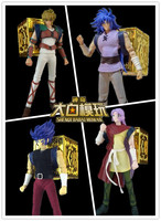 in stock DUO Model saga Gemini Leo Camus Cancer SOG EX action figure saint seiya toy casual clothes and Pandora box S16