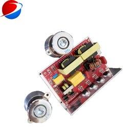 Przetwornik ultradźwiękowy sterownik 40 k 100 W 220 V PCB generator wliczony W cenę przetwornik ultradźwiękowy s 40k60w 2 sztuk do czyszczenia ultradźwiękowego