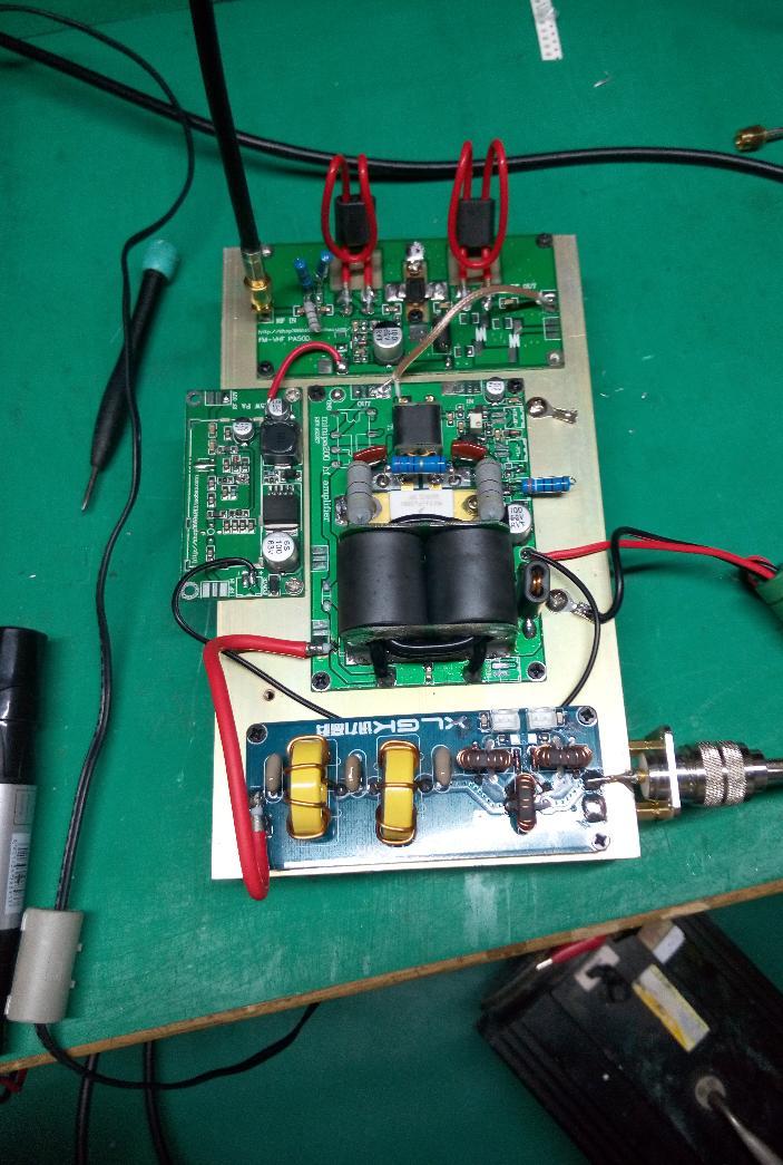 Filtro de paso bajo para salida de amplificador HF SSB 1000 W 1KW 30 MHZ SWR - 4