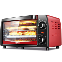 KAO 1208 Electric Oven Baking Multifunction Household Mini Oven Baking 12L Special Price Kitchen Appliances Electric Pizza Oven