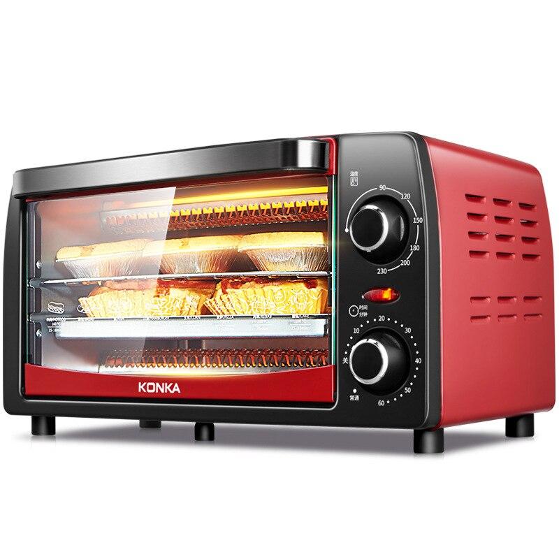KAO-1208 four électrique cuisson multifonction ménage Mini four cuisson 12L prix spécial appareils de cuisine four à Pizza électrique