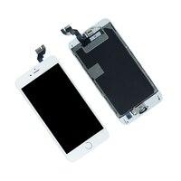 Wyświetlacz LCD Ekran dotykowy Digitizer Zgromadzenia Z Ramki Dla iPhone 6 S Plus A1634 A1699 Panel Lcd Do Telefonów Komórkowych Naprawy części