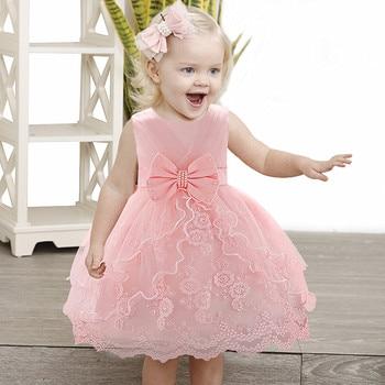Abito bambina 2019 Abito natalizio bambina 1 anno festa di compleanno abito principessa abiti per bambini