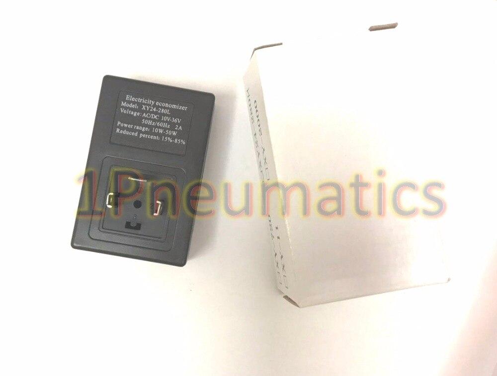 Free Shipping 10pcs/Lot 1PC-XY24-280L Solenoid Valve Electricity Economizer for Voltage AC/DC10-36V 10-50WATT DIN43650A