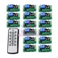 Wireless Remote Control Switch Remote Plug Radio Switch 12V 1CH Remote Switch 315Mhz 433Mhz
