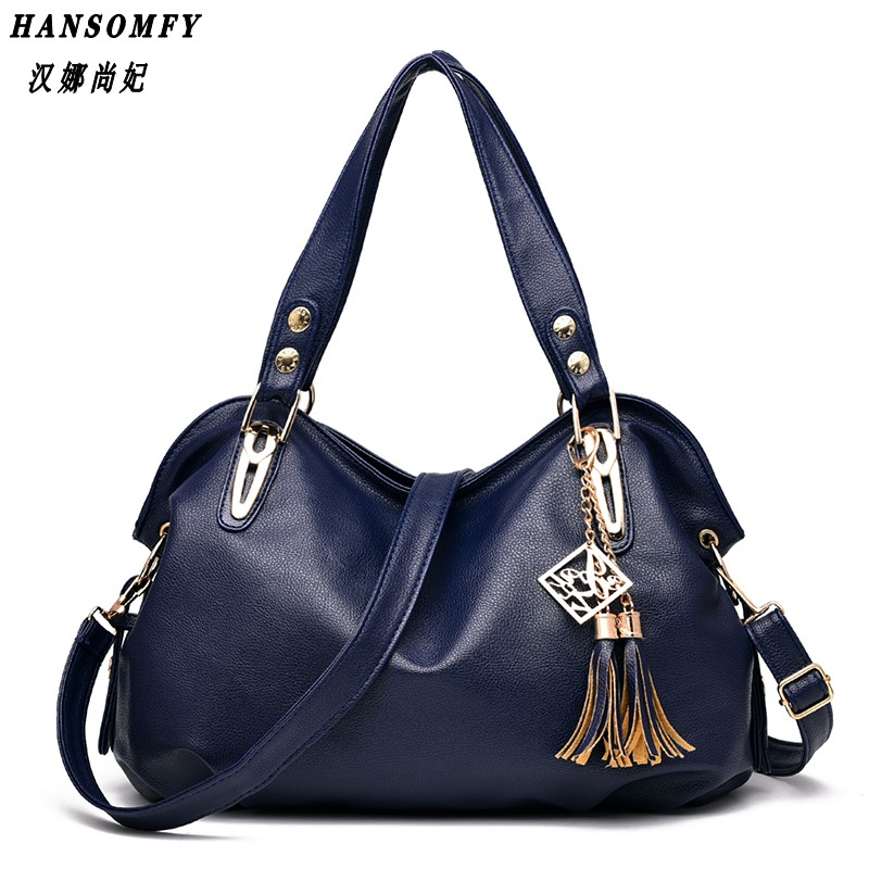 Han 100% Genuine leather Women Handbags 2017 New bag ladies classic casual fashion bag Crossbody Bag female d bill of lading
