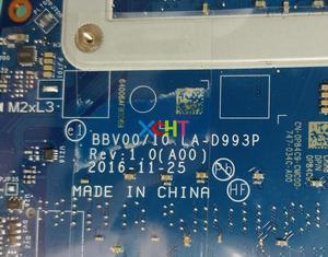 Image 4 - Para Dell Inspiron 7567 7467 CN 0P84C9 0P84C9 P84C9 LA D993P w SR32Q I7 7700HQ CPU Motherboard Mainboard Testado