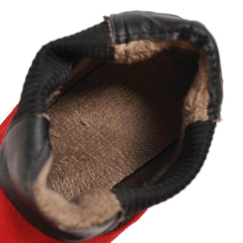 De Estrecha Casual verde rojo Negro 4 Cm gris Cuero Mujeres Moda 2019 Botas Tobillo Primavera Talón Otoño Zapatos Med Punta Erogenous ZTXxqxw18H