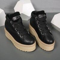 Женская обувь, брендовая шикарная женская повседневная обувь, увеличивающая рост, обувь на платформе со шнуровкой спереди, дизайнерские же
