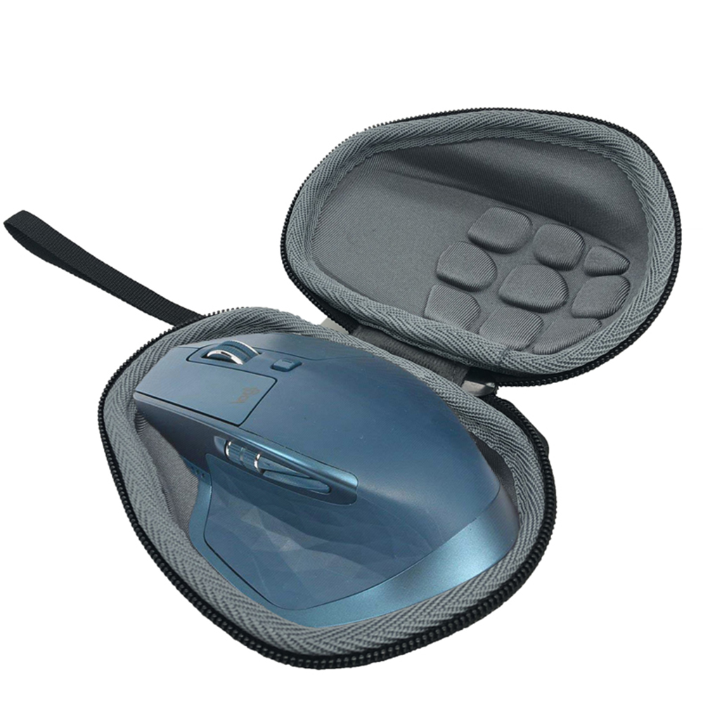 Computer Wireless Mouse Case For Logitech Inalambrico Bluetooth MX Master/Master 2S / Master 3, EVA Carrying Pouch Cover Bag