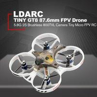LDARC Kingkong KK 5GT 213 мм F4 OSD микро высокая Скорость RC FPV гоночный Квадрокоптер беспилотный летательный аппарат с 800TVL Камера