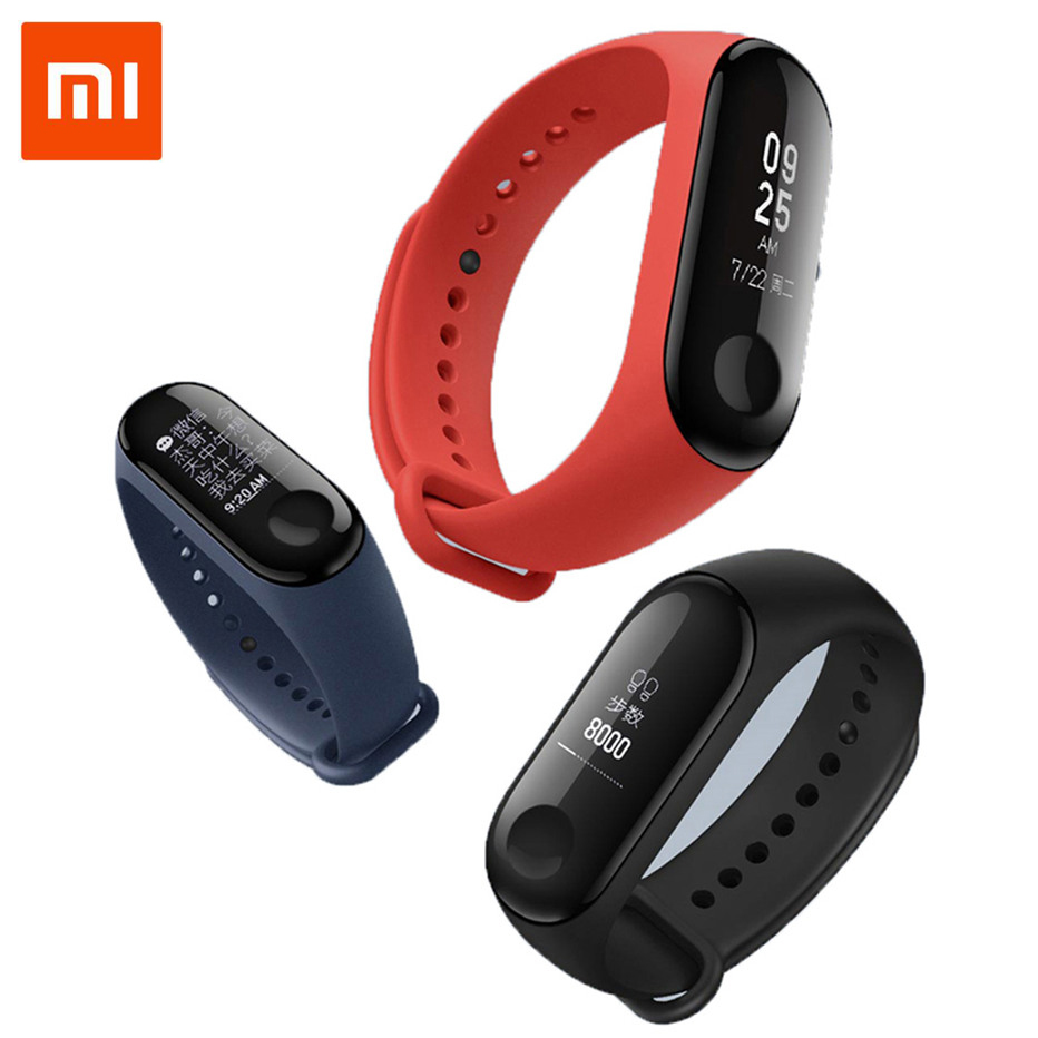 IN STOCK 2018 New Original Xiaomi Mi Band 3 Smart Bracelet 0.78 inch OLED Instant Message Caller ID Weather Forecate Heart rate new in stock mi 25l ix