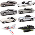 1:48 Scale James Bond 007 Aston Matin DB5 DBS V8 Vantage Toyota 2000 GT Lotus Esprit jet pull back diecast Vehicle model car toy
