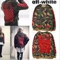 Off White Hoody Mens Purpose Tour Kanye West Camouflage Printing Cardigan Popular Men Fashion Tracksuit Male Sweatshirt