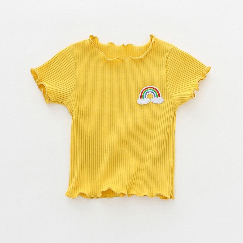 INPEPNOW Girls Tshirt Odzież dziecięca Topy dla dzieci Odzież - Ubrania dziecięce - Zdjęcie 5