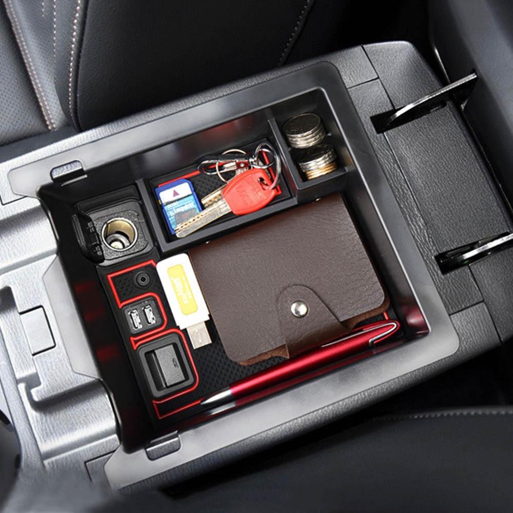 Auto Bracciolo Centrale Scatola di Immagazzinaggio per Mazda CX-5 CX5 Cx 5 2017 2018 Accessori per Console Bracciolo Vassoio Dell'organizzatore Del Supporto caso di Pallet