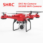 SH5 RC Drone No Camera VS SYMA X5 SH5HD FPV RC Quadcopter with 2MP Wifi Camera VS SYMA X5SW X5HW Altitude Hold RC Helicopter