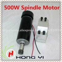 CNC Spindle Motor 500W Mounting Bracket 4 X Screws Free 1pcs ER11 Collet