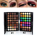 40 Colors Matte Eyeshadow Palette Naked Earth Color Shimmer Glitter Earth Eye Shadow Power Set Cosmetic Makeup Tools Make Up