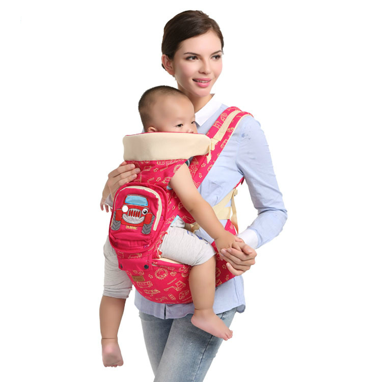 ФОТО 6 color 2016 Comfortable Fashion Infant  Soft Natural Wrap Carrier Baby Backpack 0-36 month Breathable Cotton Nursing Cover