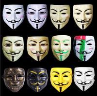 12 sztuk V Jak Vendetta 12 style Halloween maski, darmowa wysyłka W91 zarejestrowany