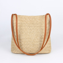 QIUYIN  Woven Beach Circle Bohemia Handbag New Fashion Mulit Style Straw Bag Handbags Women Summer Rattan Handmade