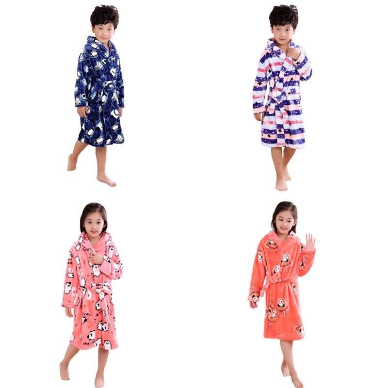 Halloween dárky Flanel dětské župany dětské zimní jaro - Dětské oblečení