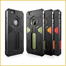 Противоударный ЗАЩИТНИК 2 Hybird жесткие Панцири тонкий Телефонные Чехлы для iPhone 6 S 6 Телефон Защитная обложка Корпуса Капа XY681